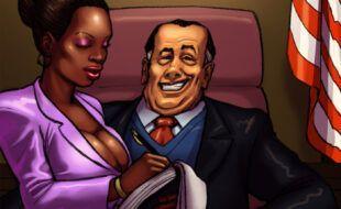 O prefeito que só come buceta preta