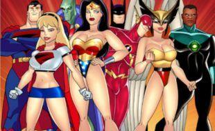 Liga da justiça quadrinhos porno eróticos