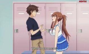 Sexo no vestiário da escola - Hentai legendado