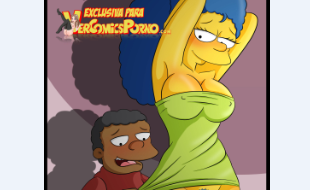 Marge Simpson aula de sexo com o novinho