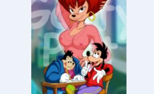 Pateta come a prima Roxanne novinha - Quadrinhos Pornô